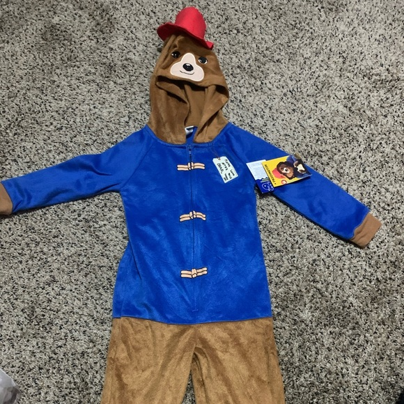 NWT Paddington one piece pajama